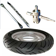 Tyre Changing Tools and Inflation Devices