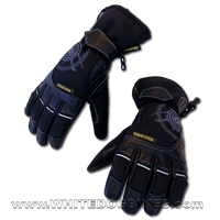 GMAC Pilot Textile/Leather Motorcycle Gloves- CLEARANCE