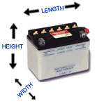 6 volt conventional batteries