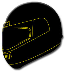 SHARP Motorbike Helmet Safety Scheme using a simple star system