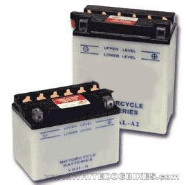Conventional or Lead Acid Motorcycle Batteries