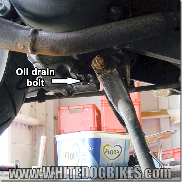 AN125 oil drain bolt