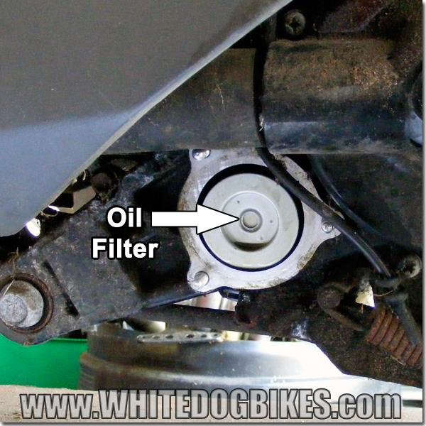 AN125 oil filter