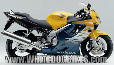 CBR600 FX yellow/black
