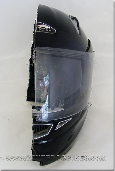 Half helmet view again