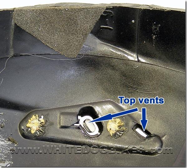 Top vents