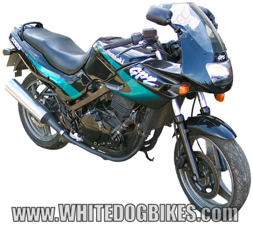 kawasaki gpz500s specs ex500 specifications ninja 500r info gpz500 spec. Black Bedroom Furniture Sets. Home Design Ideas