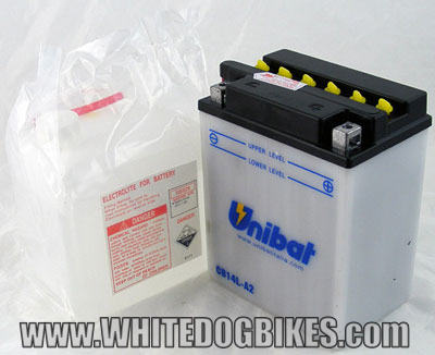 GPZ500S battery