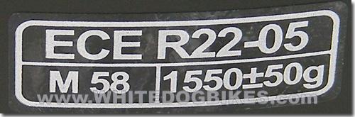 ECER22.05 helmet standard
