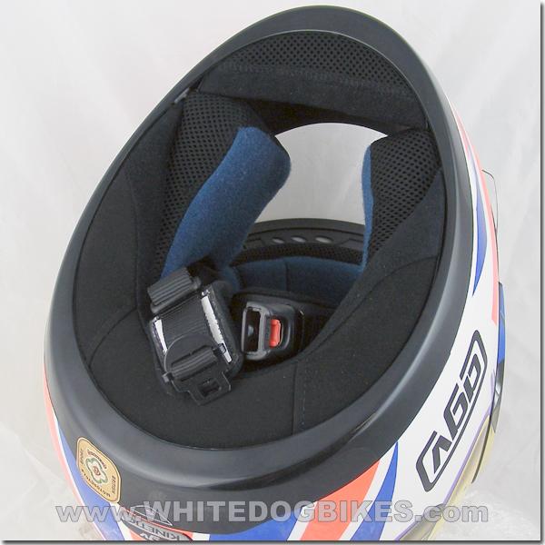 Open quick release helmet buckle