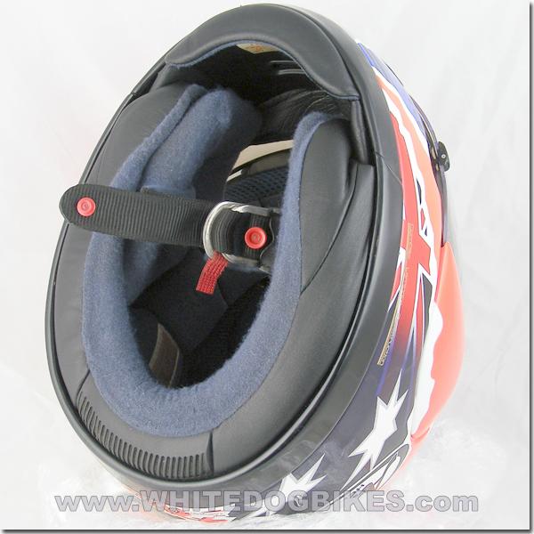 Double D helmet strap