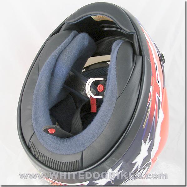 Open Double D helmet strap