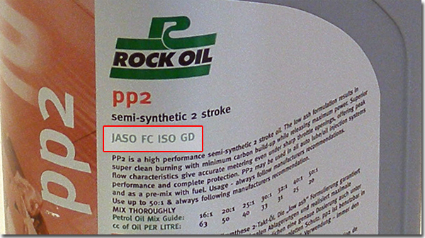 Rock Oil 2T Jaso info