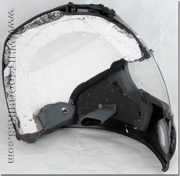 EPS Liner in the helmet