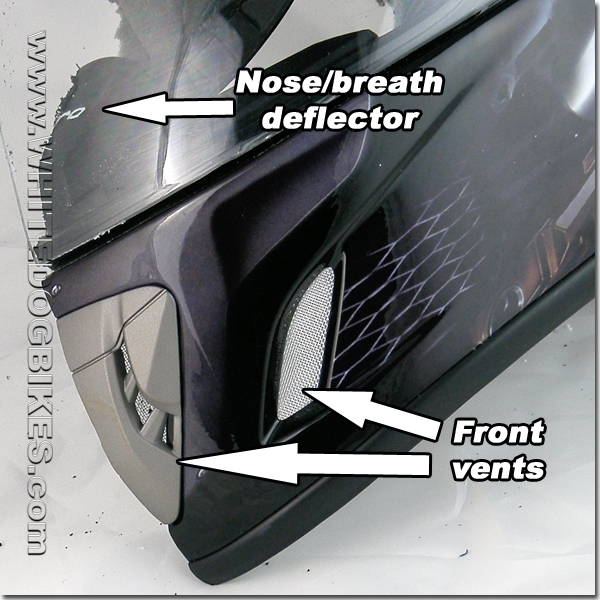 Venting system - Front