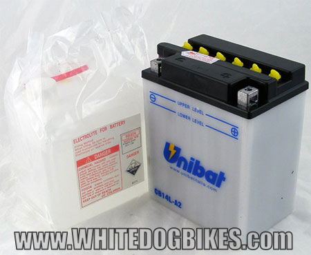 Trident 900 battery