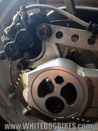 Sprint 900 chain adjuster