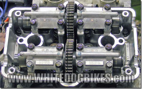VFR 750 gear driven cams