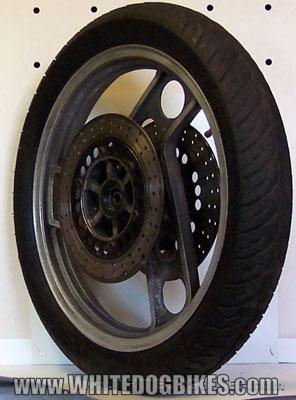 XJ900 front wheel