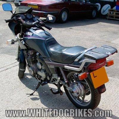 XJ900F rear view