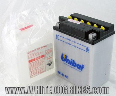 XJ900 F battery