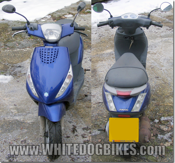 Zip 50 front and rear view