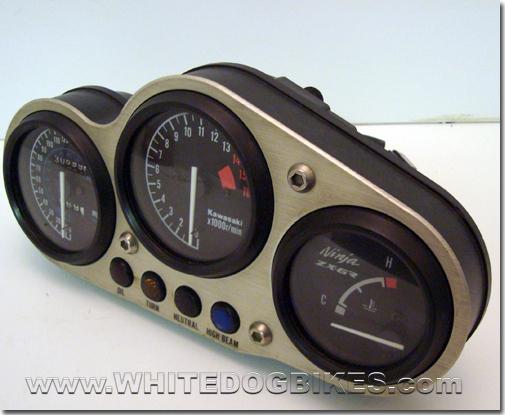Kawasaki ZX6R F Ninja specs clocks
