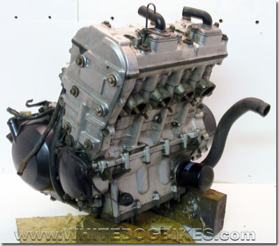 ZX6R Ninja engine