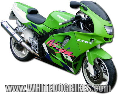 Kawasaki Zxr Single Exhaust