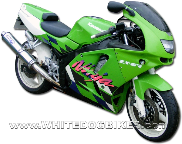 kawasaki zx6r f ninja specs and information - whitedogbikes blog