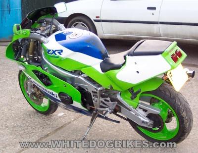 ZXR400 rear