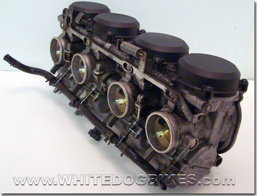 Kawasaki ZZR600 D info carburetor