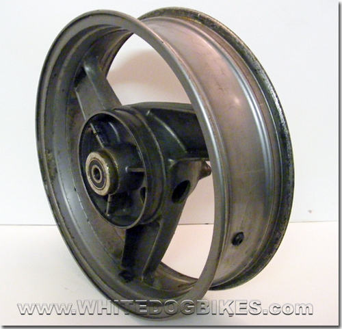 Kawasaki ZZR600 D specs rear wheel