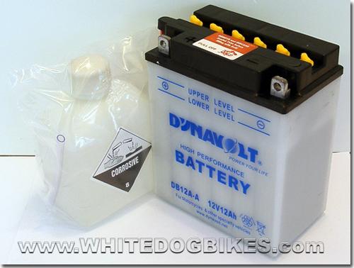 ZZR600 D3 battery