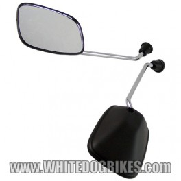Honda C90 Cub Mirrors (Pair) with 8mm Thread