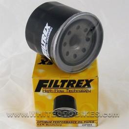 86-87 Honda CBR400 Aero NC23 Oil Filter - Filtrex OIF003