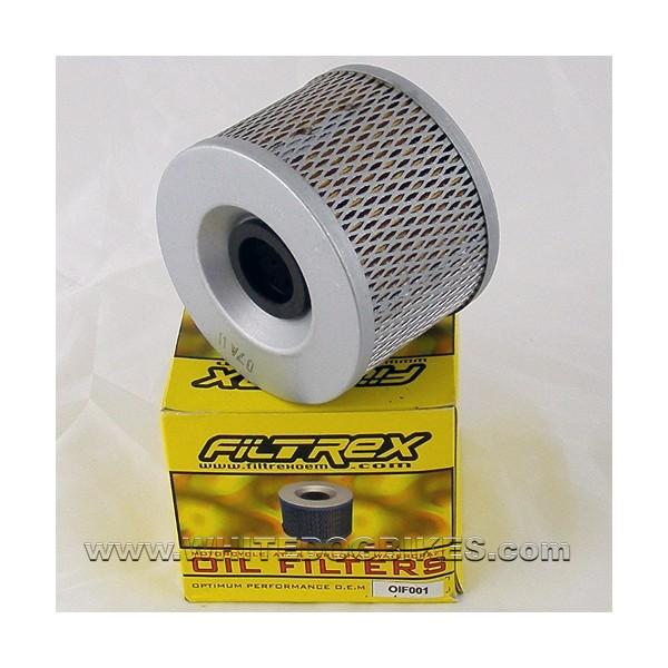 9103 Triumph Trophy 1200 Oil Filter Filtrex Oif001 White Dog