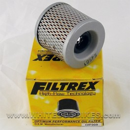 83-96 Kawasaki GPz305 Oil Filter - Filtrex OIF009