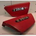 1980 Kawasaki Z250 B Red Side Panels