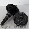 2001 Gilera DNA 50 Rear Drive Gear Sprockets