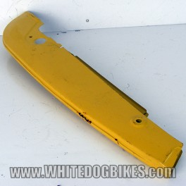 Honda C70 Chain Guard Panel - Yellow