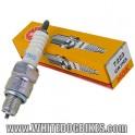 84-96 Honda C90 Cub Spark Plug - 1 x NGK CR7HS