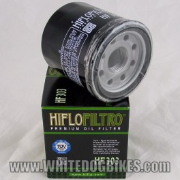 88-03 Kawasaki ZXR 400 Ninja Oil Filter - Hiflo HF303