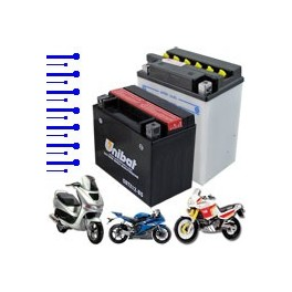Select Your Battery by Motorcycle - List