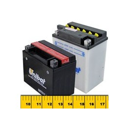 Select Your Motorcycle Battery by Size
