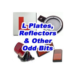 L Plates, Reflectors and Motorbike Accessories