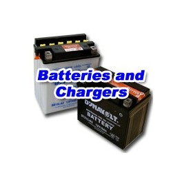 Motorcycle Batteries and Chargers